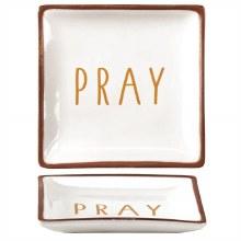 Terra Cotta Tray 4x4 Pray