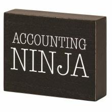 Accounting Ninja Plaque
