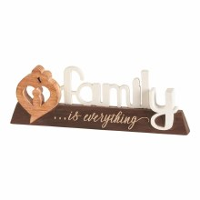 Family Word Figurine