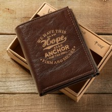 Mens Leather Wallet Hope
