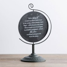 We're Blessed - Wooden Plaque