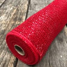 Yard Metallic Red Mesh