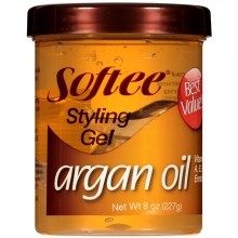 Softee Argan Oil Gel 8oz