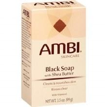 Ambi black soap w/ shea butter