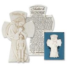 Soldier & Jesus Cross