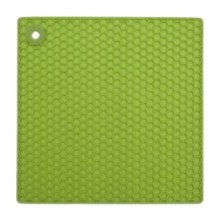 Silicone Pot Holder Green