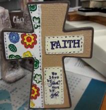 """Faith cross 5"""""""