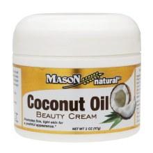 Mason Coconut Oil Cream 2oz