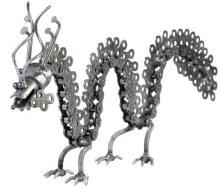 Metal Dragon Figurine