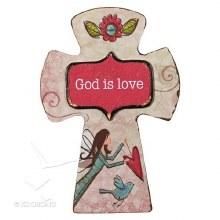 God Is Love Cross Magnet