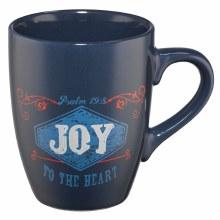 Joy Stoneware Mug Blue