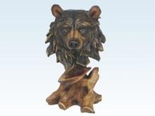 Wood Like Bear Head