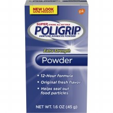 Poli-grip super pwd 1.6 oz