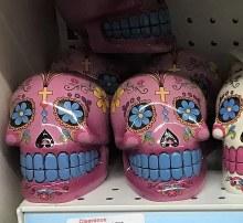 Sugar Skull Bank Pink