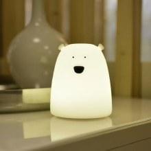 Mini Polar Bear Silicone Lamp