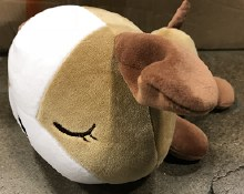 Sleeping Dog Plush