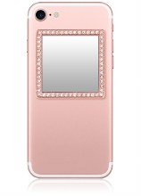 Rose Gold Square Phone Mirror