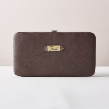 Brown Frame Wallet Faith