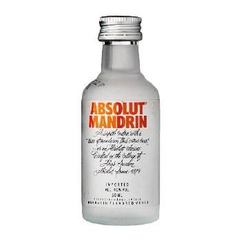 Absolut 50ml Mandrin Vodka
