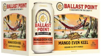 Ballast Point 6pk Mango Even Keel Session IPA Cans