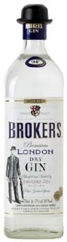 Broker's 750ml London Dry gin