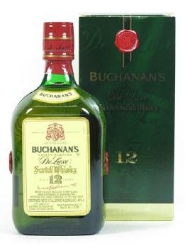 Buchanan's 750ml 12 Year Blended Scotch Whiskey