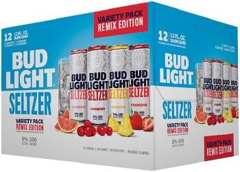 Bud Light 12 Pack Remix Variety Seltzer