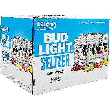 Bud Light 12 Pack Variety Seltzer