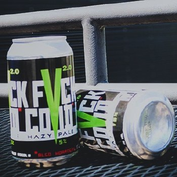 Fuck Covid 4 Pack 16oz Cans Hazy Pale