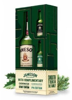 Jameson 750ml Gift Sets With 2 Shots
