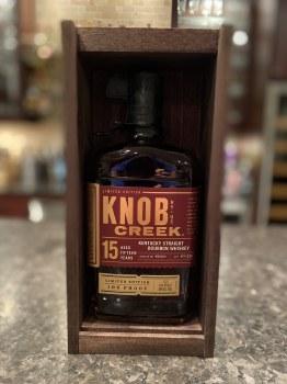 Knob Creek 750ml 15 year Kentucky Bourbon