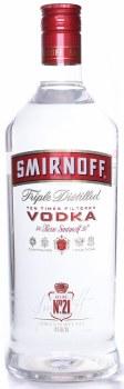 Smirnoff 1.75L 80 Proof Vodka Pet