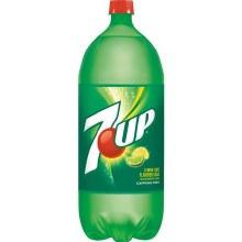 2 Liter 7 up