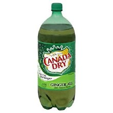 2 Liter Canada Dry Ginger Ale