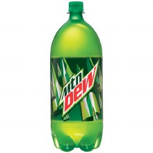 2 Liter Mountain Dew