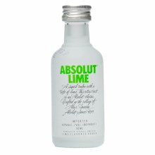 Absolut 50ml Lime Vodka