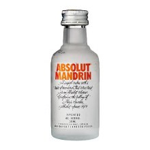Absolut 50ml Mandrin Vodka