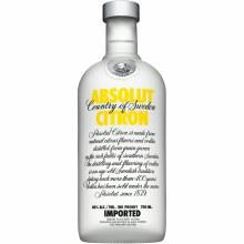 Absolut 750ml Citron Vodka