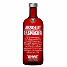 Absolut 750ml Raspberri Vodka