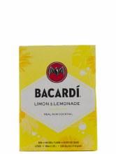 Bacardi 4 Pack Limon & Lemonade