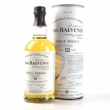 Balvenie 750ml 12 Year Single barrel Single Malt Scotch Whiskey