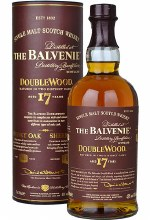 Balvenie 750ml 17yr Double Wood Single Malt Whiskey