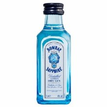 Bombay 50ml Sapphire London Dry Gin 94 Proof