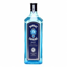 Bombay 750ml East Sapphire Dry Gin 84 Proof