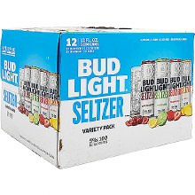 Bud Light 12 Pack Variety Seltzer