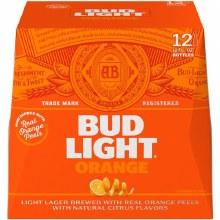 Bud light orange 12pk 12oz bottle