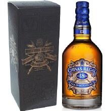 Chivas Regal 750ml 18 Years Blended Scotch Whiskey