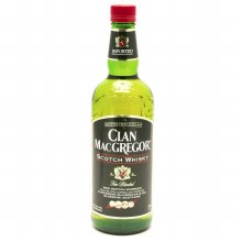 Clan MacGregor 750ml Scotch Whiskey