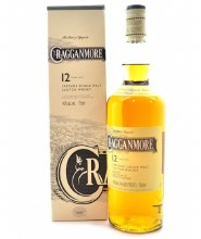 Cragganmore 750ml 12 Years Single Malt Scotch Whiskey
