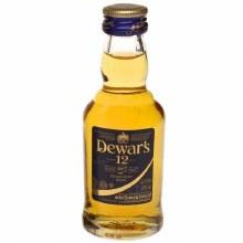 Dewar's 50ml 12 Years Scotch Whiskey